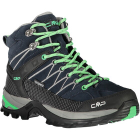 CMP Campagnolo W's Rigel Mid WP Trekking Shoes Asphalt-Ice Mint